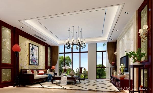 300平米中式风格别墅装修价格多少钱