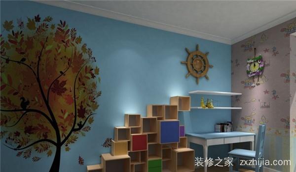 根据这些因素来确定手绘墙画的材料,技法及工具.