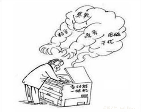 复印机危害预防