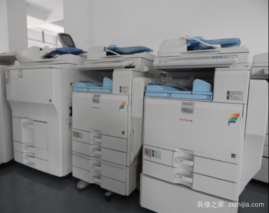 复印机工作原理