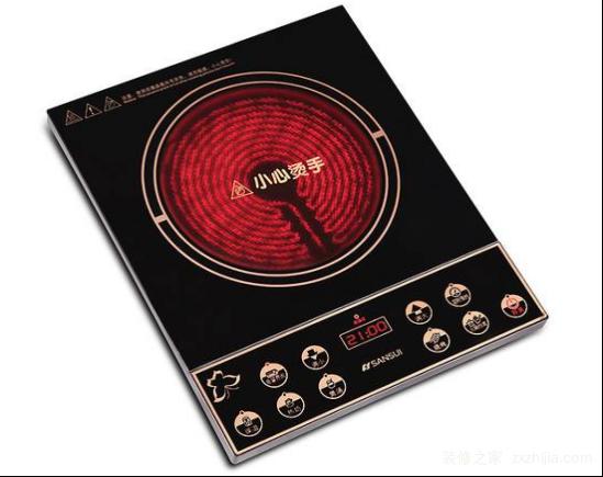 电陶炉故障2、电路故障: 电陶炉维修方法:如果电陶炉主板运算放大器部份电路有故障,可在电阻(R7、R17、R16、R19、R18、R22、R2、R10)、电容(C4、C6、C8、C9、EC1)用万用表测量运算放大器输出电压:将万用表调到直流电压档位。负极表笔接主板负极(IC1L7805中间的脚或相连线路)正极表笔接主板上电阻R22(靠近插座的一端)常温时电压约0.