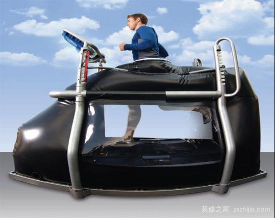 反重力跑步机原理