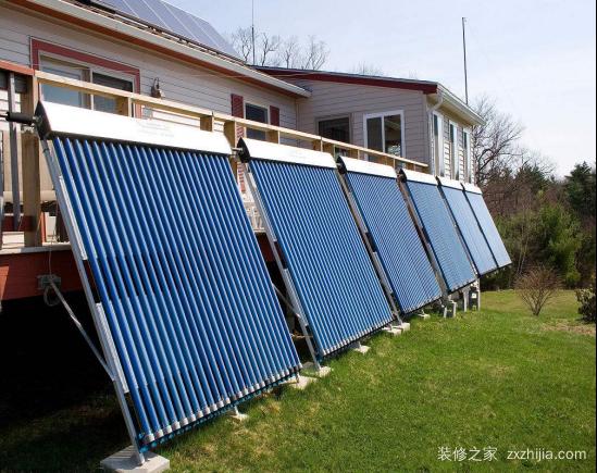 太阳能热水器原理