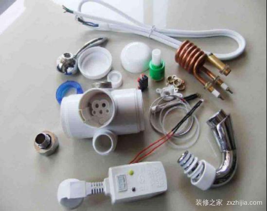 电热水龙头所需配件