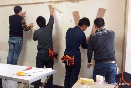 包头壁纸施工