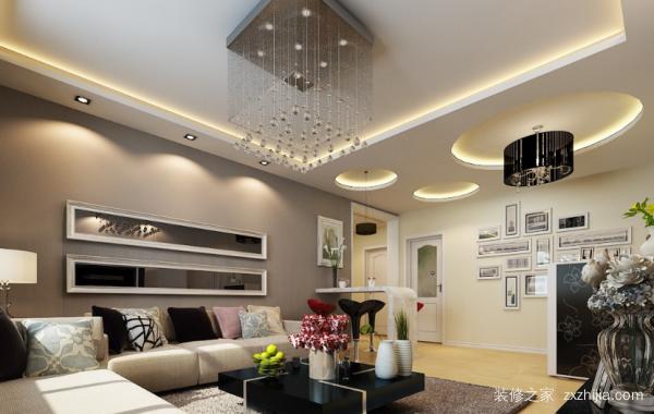 沙发背景墙装饰画,不同风格应该如何搭配!
