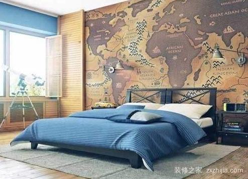 床头墙贴风水