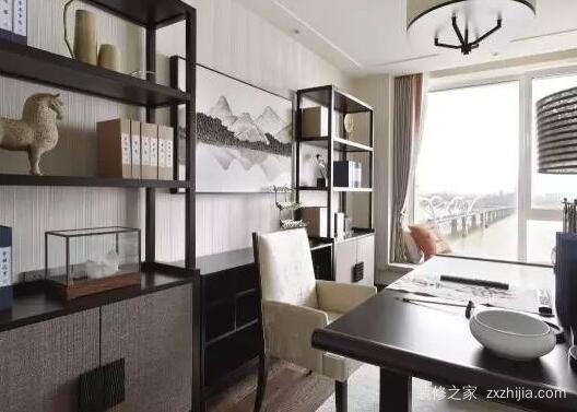 新中式软装设计书房要体现三大特性