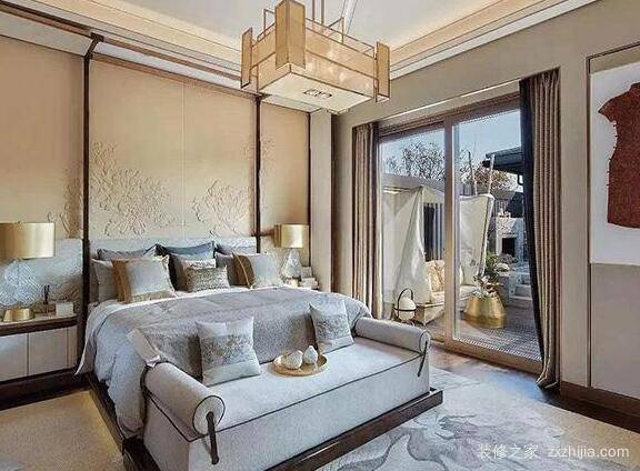 新中式卧室软装
