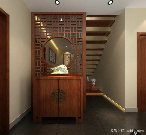中式鞋柜玄关