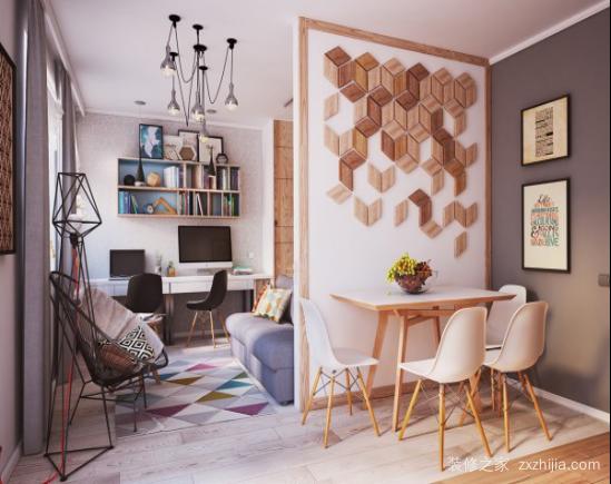 时尚简约小公寓 40平米小户型装修效果图大全