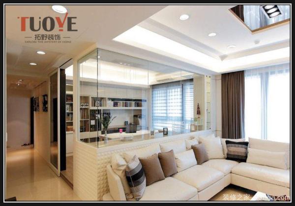小户型客厅这样装修了,其实也能很宽敞的!