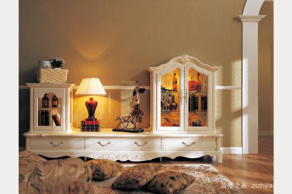 美式家具的搭配