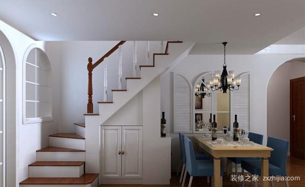 复式楼盘的安全楼梯,复式楼盘设计禁忌图片