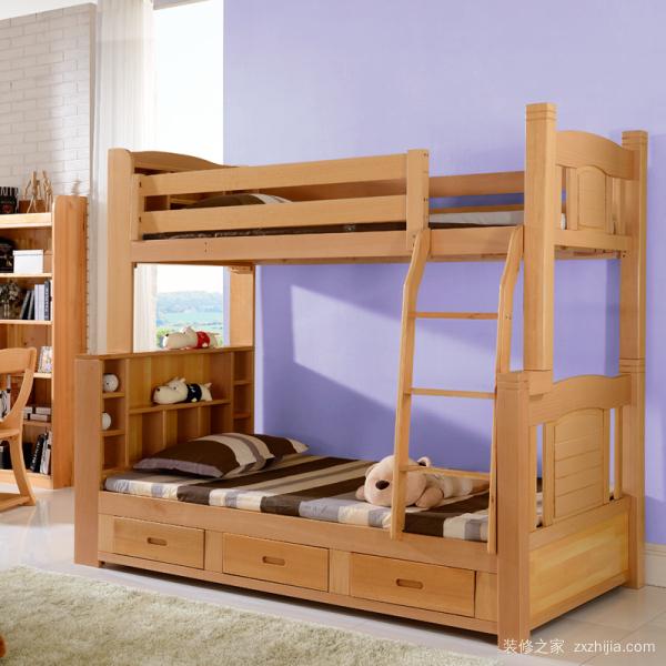 实木双层床价格