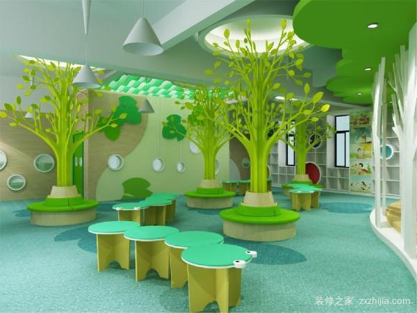 幼儿园大厅装修