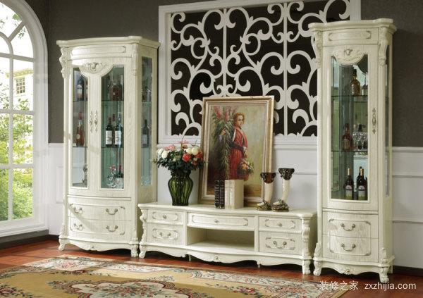 欧式酒柜装饰品分类 欧式酒柜特点优势