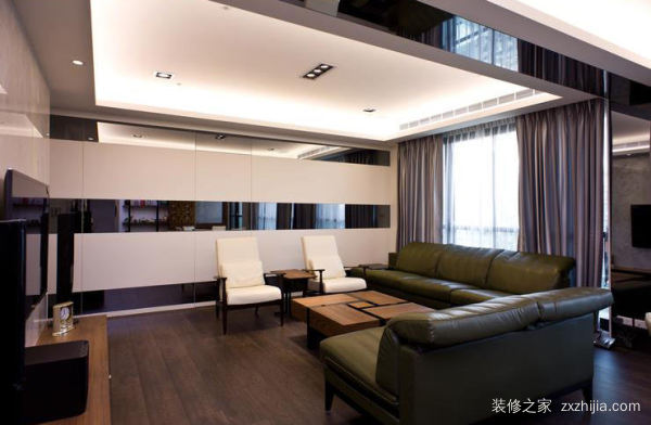 客厅装饰吊顶