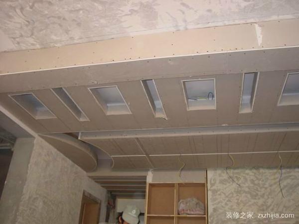石膏板的安装步骤_装修之家网