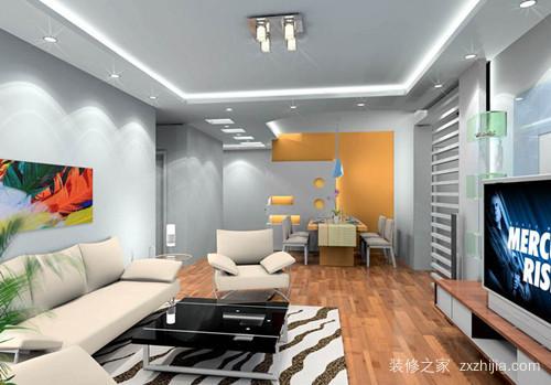 110平方米三室一厅装修风格
