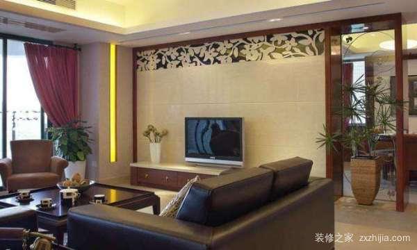 小客厅电视墙怎么装修