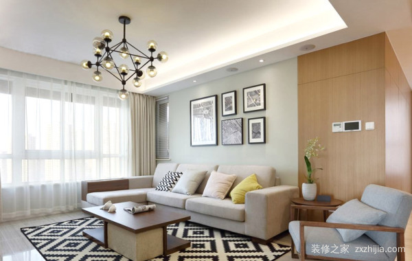 现代简约风格客厅装饰