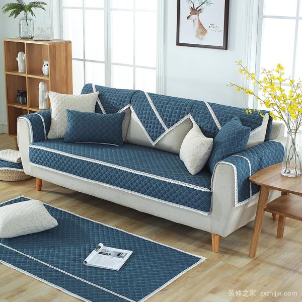 真皮沙发用什么垫子