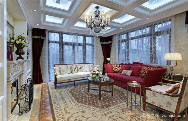 美式客厅装修风格