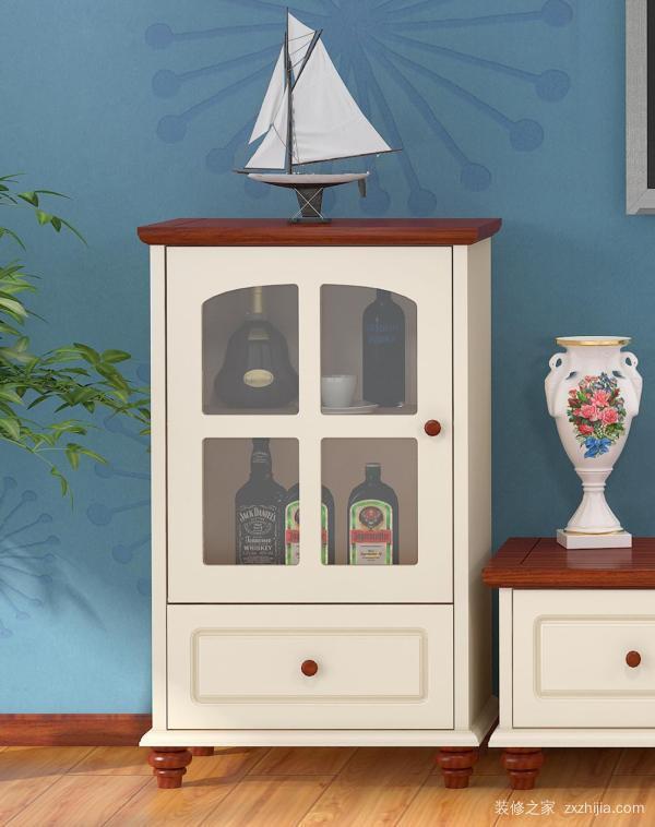 地中海风格酒柜