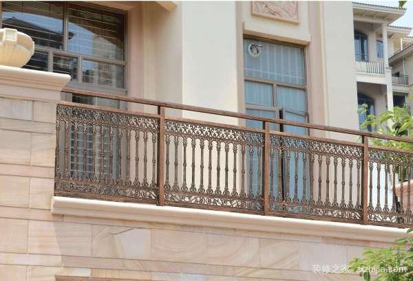 露天阳台护栏