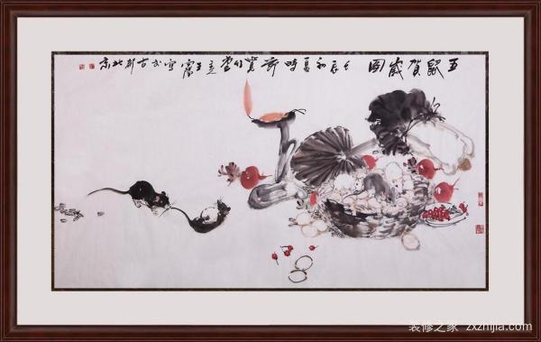 新中式风格挂画