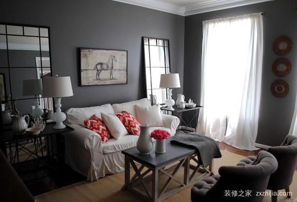 客厅墙面的颜色