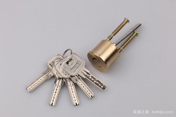 老式木门锁