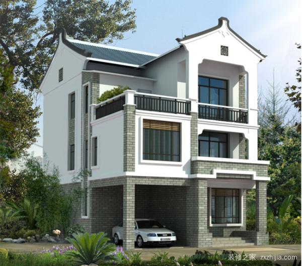 家庭院落设计实景图