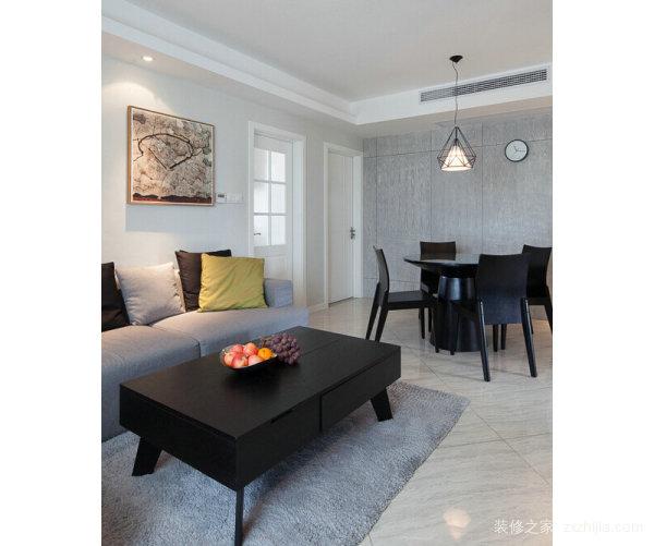 小户型90平二室一厅装修设计