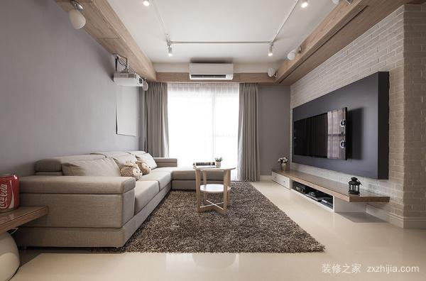 后现代风格电视墙