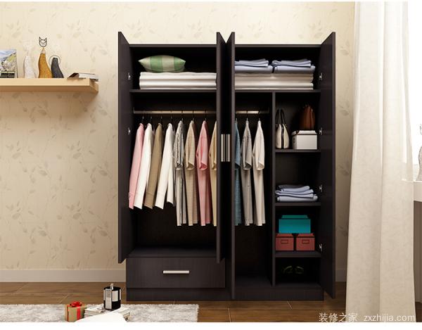 简易实木衣柜安装步骤 简易实木衣柜选购方法