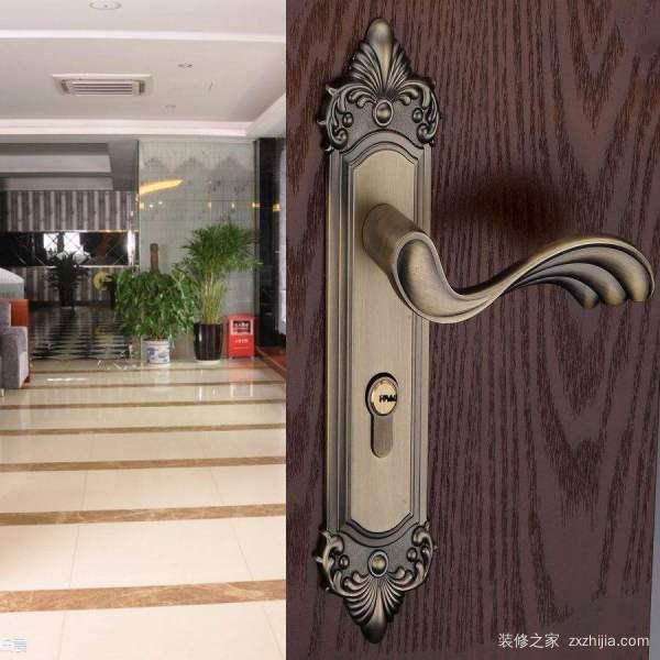木门锁安装