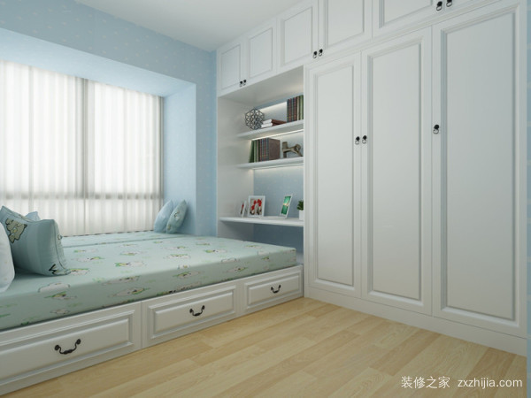 儿童榻榻米卧室