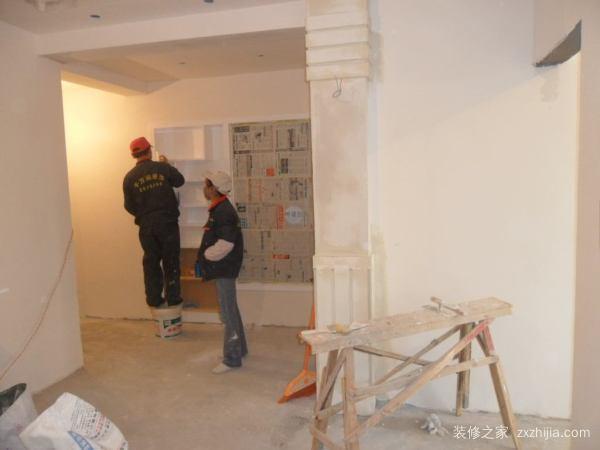 墙面基层处理施工步骤