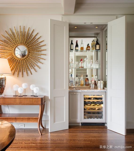 欧式家装酒柜特点介绍 欧式家装酒柜摆放位置