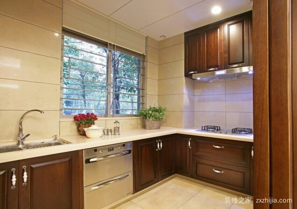 厨房重新装修