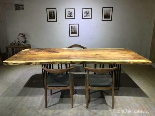 原木办公桌