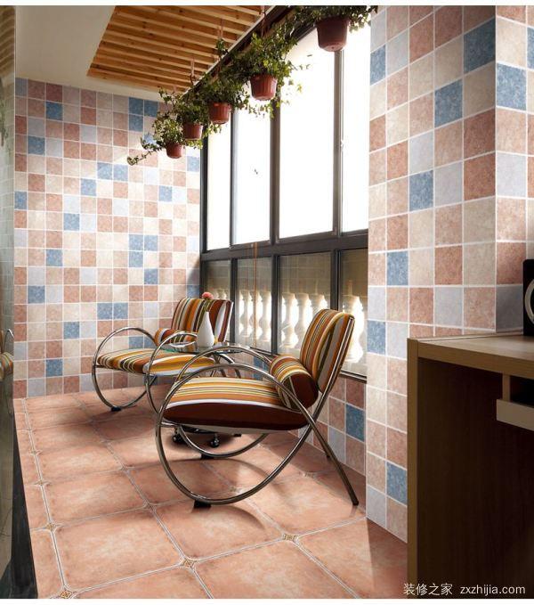 美式阳台瓷砖