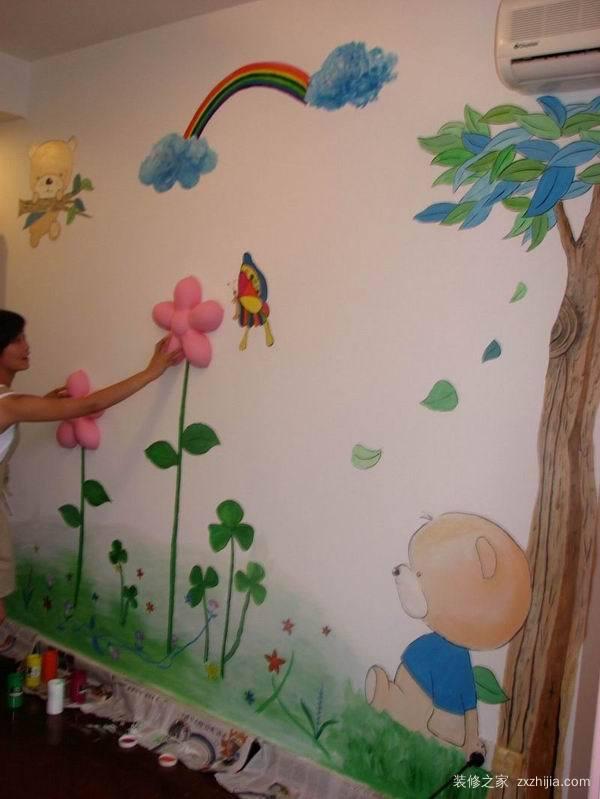 儿童画房间