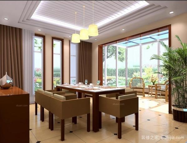 家庭餐厅装潢设计要点 家庭餐厅装潢注意事项