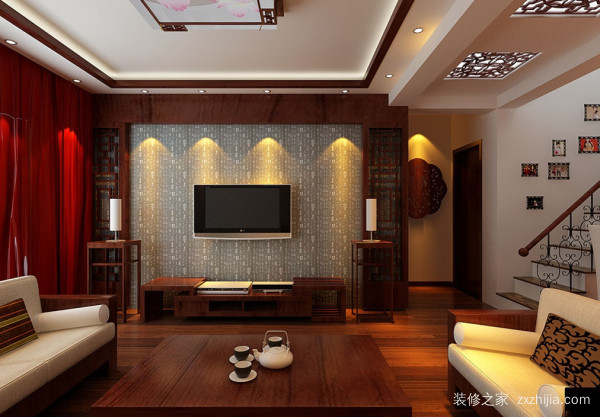 中式豪宅装修