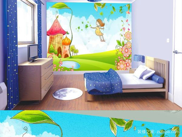 房间一角儿童画技能 房间一角儿童画注意事项