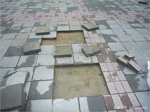 地板砖修复