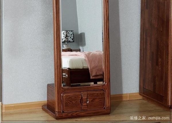 实木穿衣镜